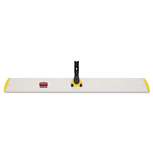 Rubbermaid Commercial HYGEN HYGEN Quick Connect Single-Sided Frame, 36 1/10w x 3 1/2d, Yellow