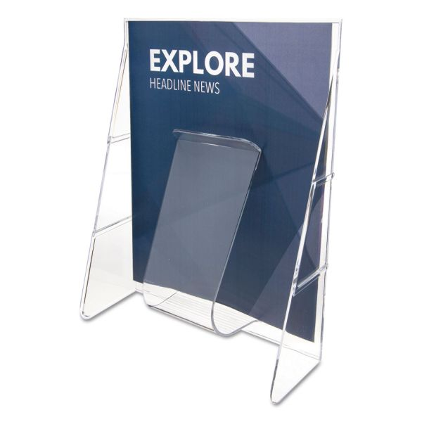 deflecto Stand-Tall Magazine Size Literature Rack