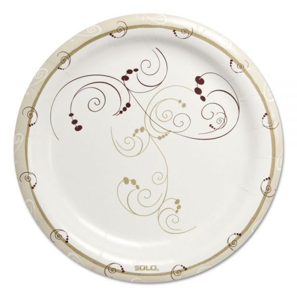 "SOLO Cup Company Symphony Heavyweight 9"" Paper Plates"
