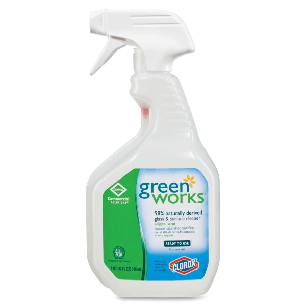 Green Works Natural Glass & Surface Cleaner