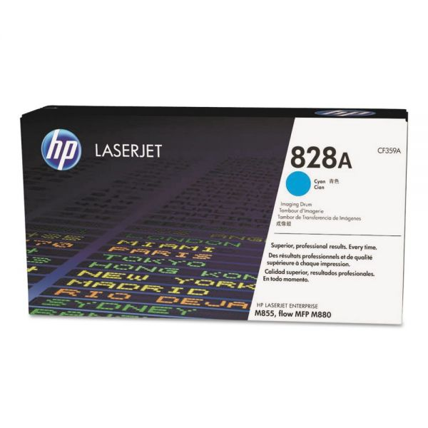 HP HP 828A, (CF359A) Cyan Original LaserJet Imaging Drum