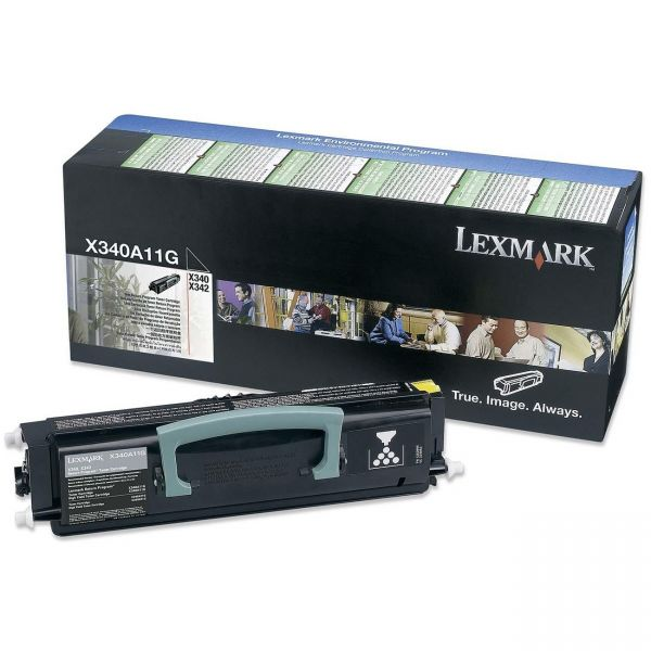 Lexmark X340A11G Black Return Program Toner Cartridge