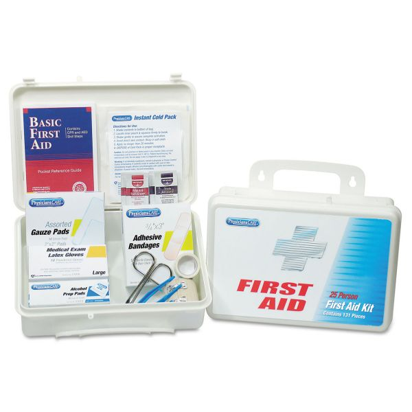 PhysiciansCare 113-Pc Home/Office/Auto First Aid Kit