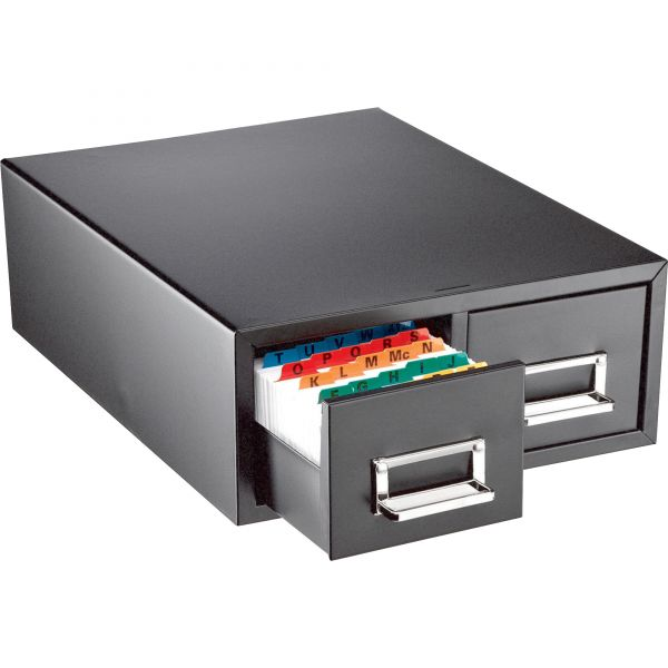 MMF Steel Card Cabinet