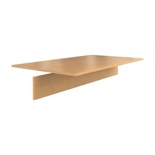 HON Preside Adder Table Top, 72 x 48, Harvest