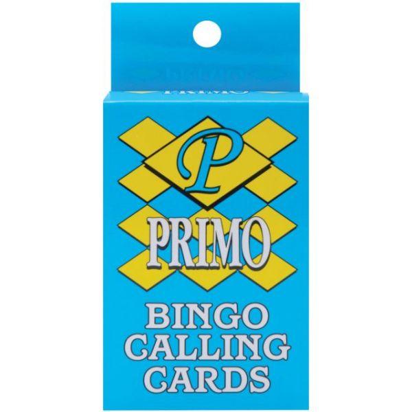 Bingo Calling Cards 75/Pkg