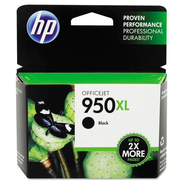 HP 950XL High Yield Black Ink Cartridge (CN045AN)
