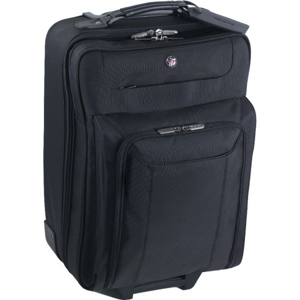 "Targus Corporate Traveler CUCT03R Carrying Case (Roller) for 15.6"", Notebook, Toiletries - Black"
