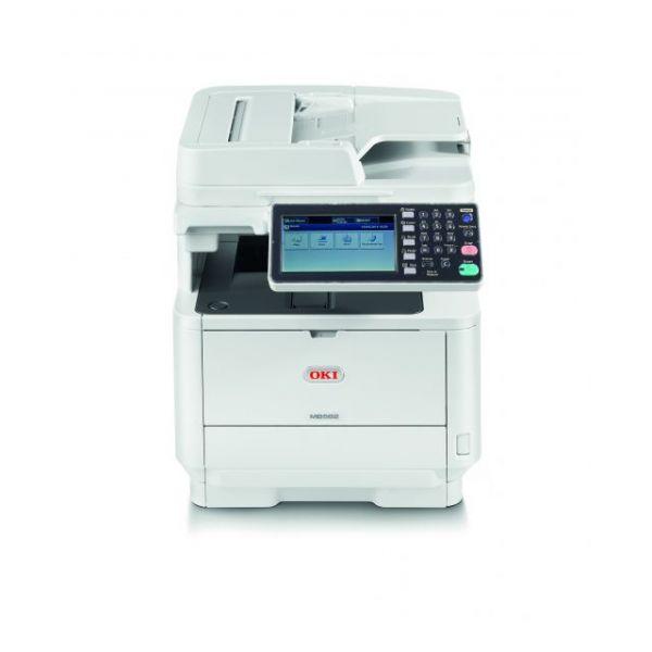 Oki MB562W LED Multifunction Printer - Monochrome - Plain Paper Print - Desktop