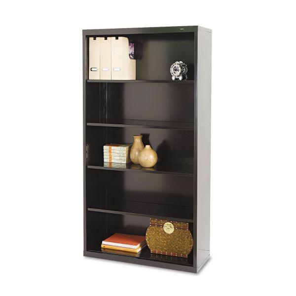 Tennsco Deep 5-Shelf Welded Steel Bookcase