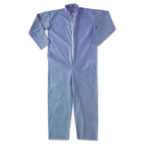 KleenGuard* A65 Flame Resistant Coveralls, XL, Blue