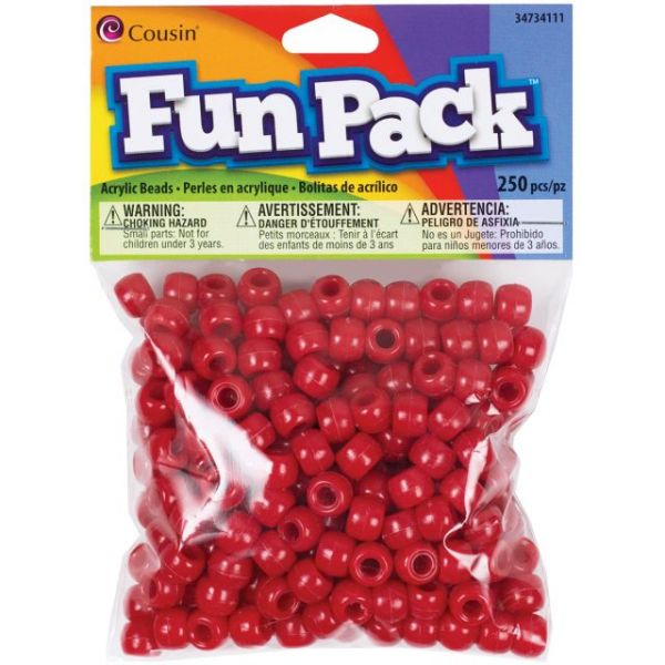 Fun Pack Acrylic Pony Beads