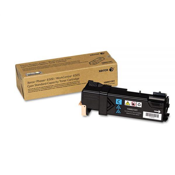 Xerox 106R01591 Toner, 1,000 Page-Yield, Cyan