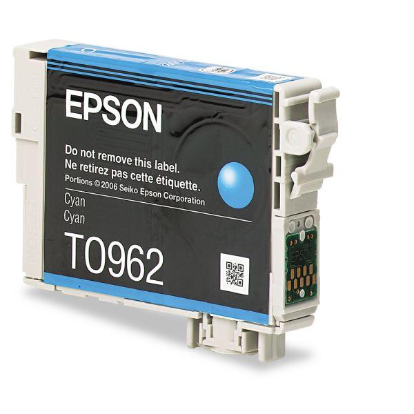 Epson T0962 Cyan Ink Cartridge (T096220)