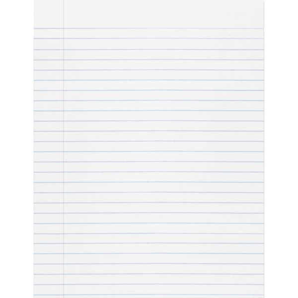 Pacon Composition Paper, 16 lbs., 8-1/2 x 11, White, 500 Sheets/Pack