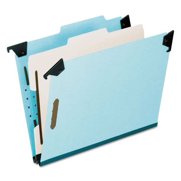 Pendaflex Blue Pressbrd Hanging Classifictn Folder