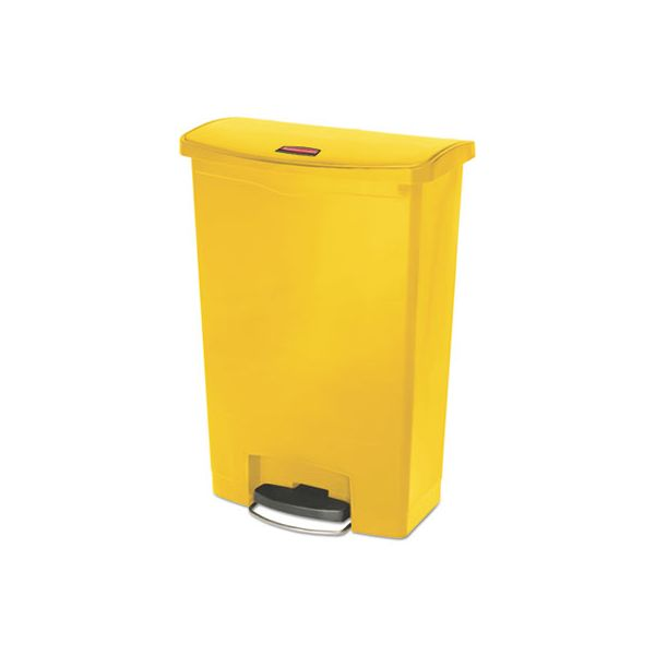 Rubbermaid Commercial Slim Jim Step-On 24 Gallon Trash Can