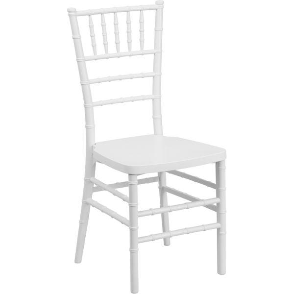 Flash Furniture White Chiavari Chair