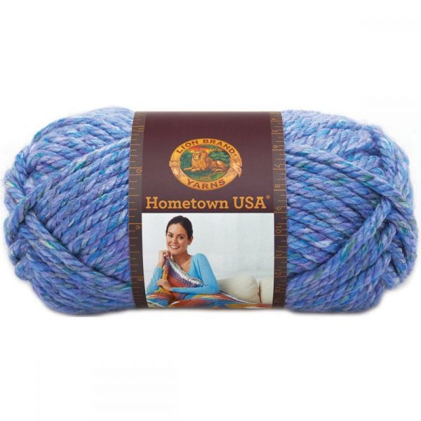 Lion Brand Hometown USA Yarn - Jersey Garden
