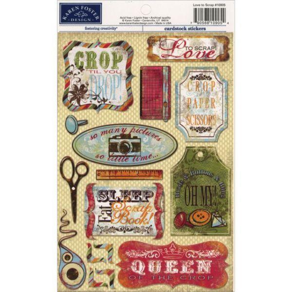 Cardstock Stickers