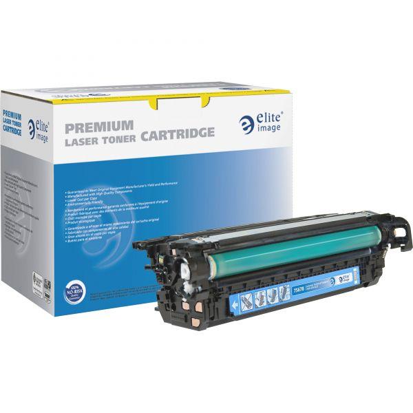 Elite Image Remanufactured HP CE261A Cyan Toner Cartridge