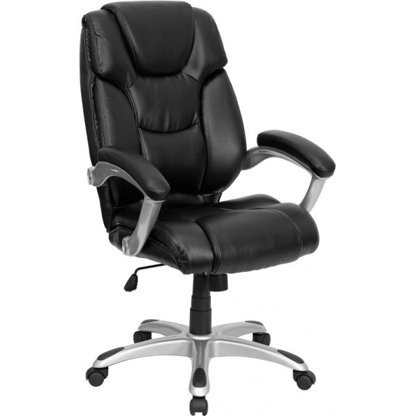 Flash Furniture High Back Executive Swivel Office Chair [GO-931H-BK-GG]