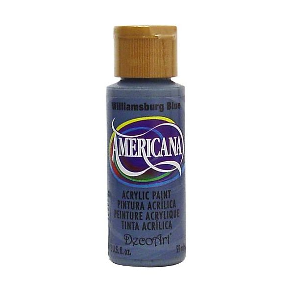Deco Art Williamsburg Blue Americana Acrylic Paint