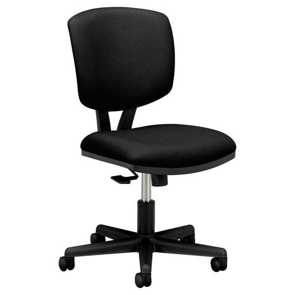 HON Volt Series Task Chair with Synchro-Tilt, Black Fabric
