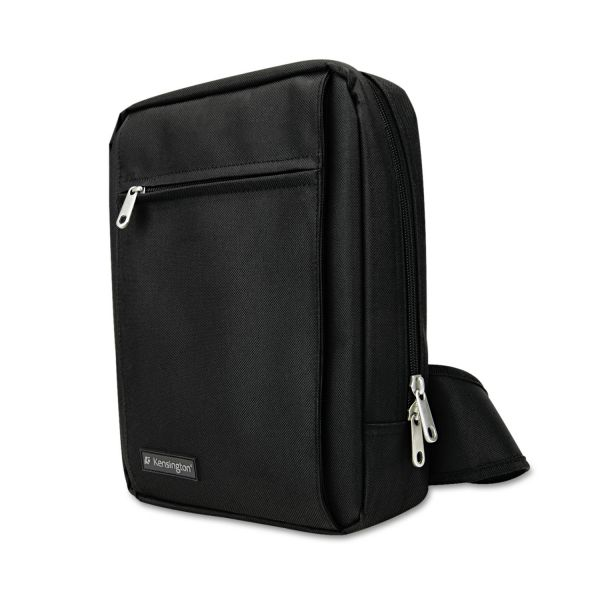 Kensington Sling Bag, Nylon, 18 x 13-1/2 x 11-1/2, Black
