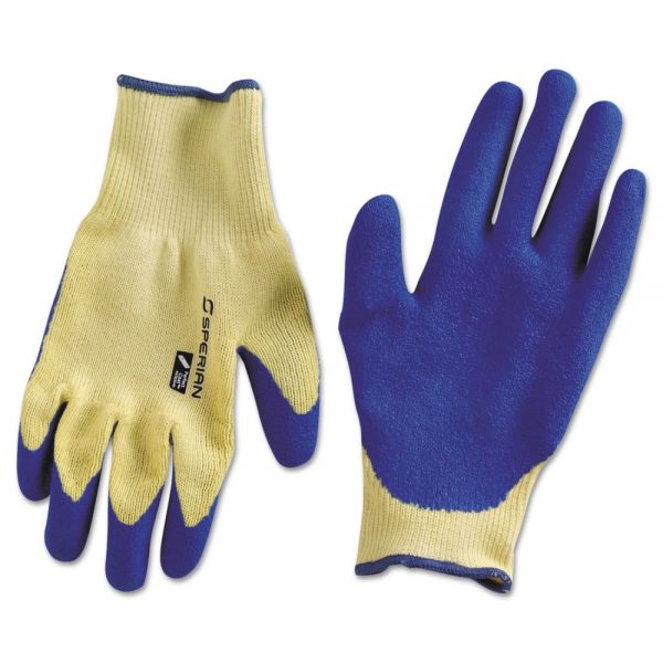 Honeywell Tuff-Coat ll Cut-Resistant Gloves, Blue Latex Palm, Medium
