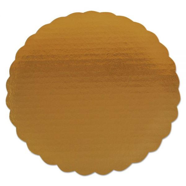 SCT Round Gold Cake Pads
