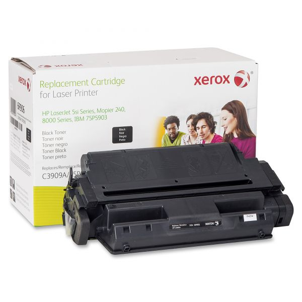 Xerox Remanufactured HP 09A Black Toner Cartridge