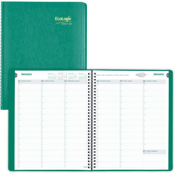 EcoLogix Weekly Appointment Book