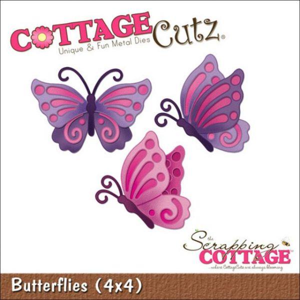CottageCutz Butterflies Die