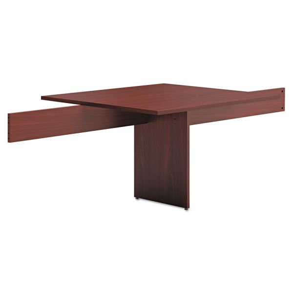 "HON basyx by HON Modular Conference Table Adder | Slab Base | 48""L"