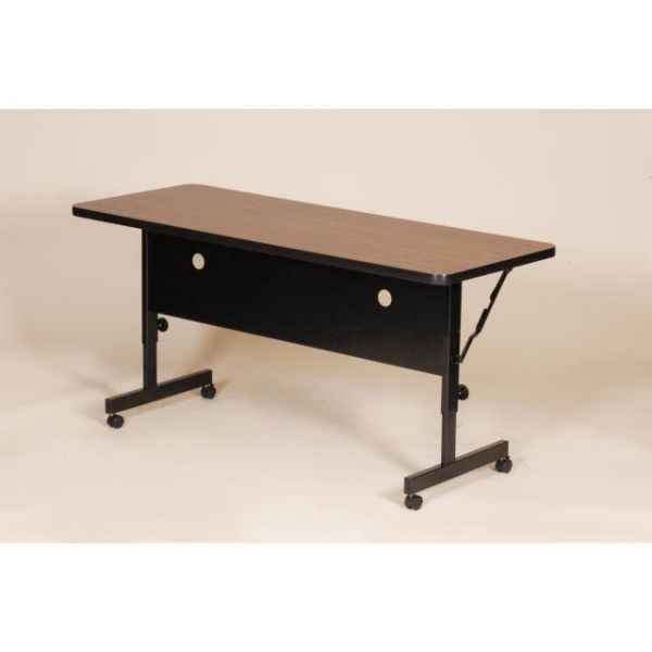 Correll Deluxe Adjustable Height Flip Top Table