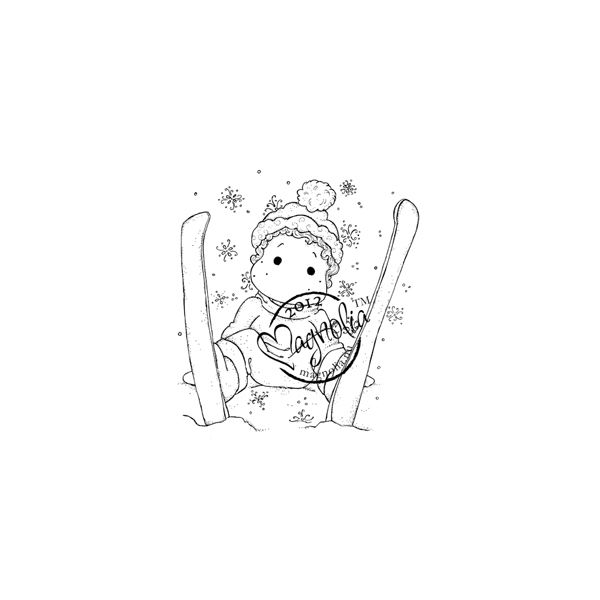 "A Christmas Story Cling Stamp 2.5""X2.75"" Package"