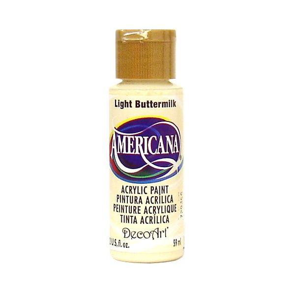 Deco Art Americana Light Buttermilk Acrylic Paint