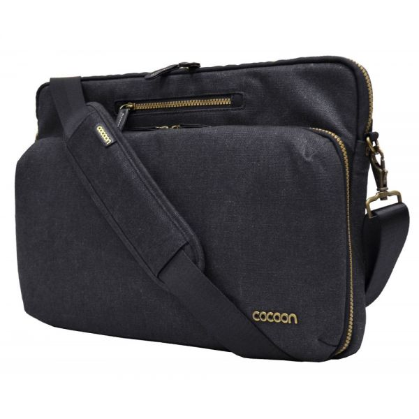 "Cocoon Urban Adventure Carrying Case (Messenger) for 16"" Notebook, MacBook Pro - Black"