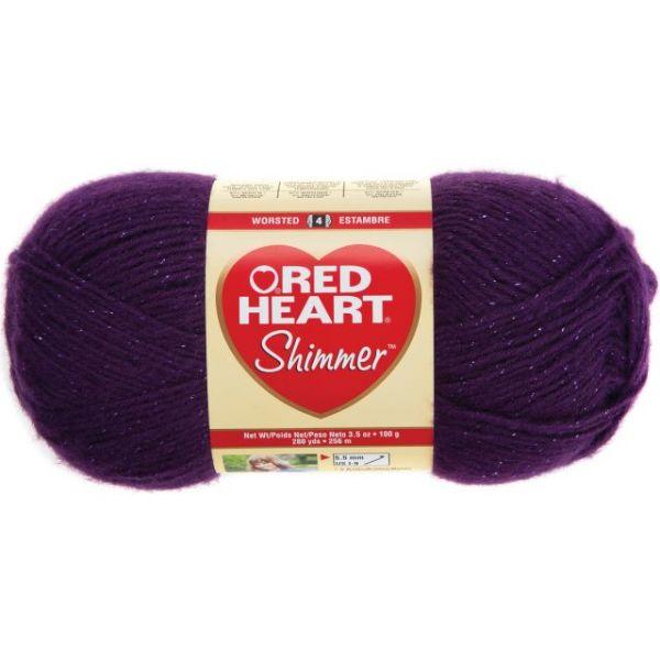 Red Heart Shimmer Yarn