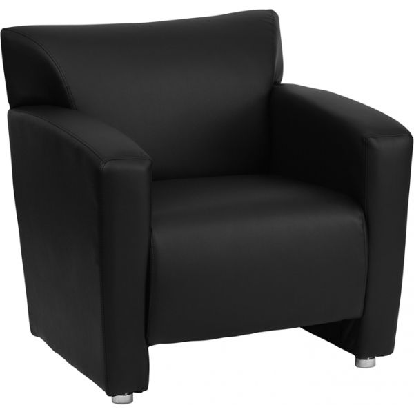 Flash Furniture Majesty Series Black Leather Chair