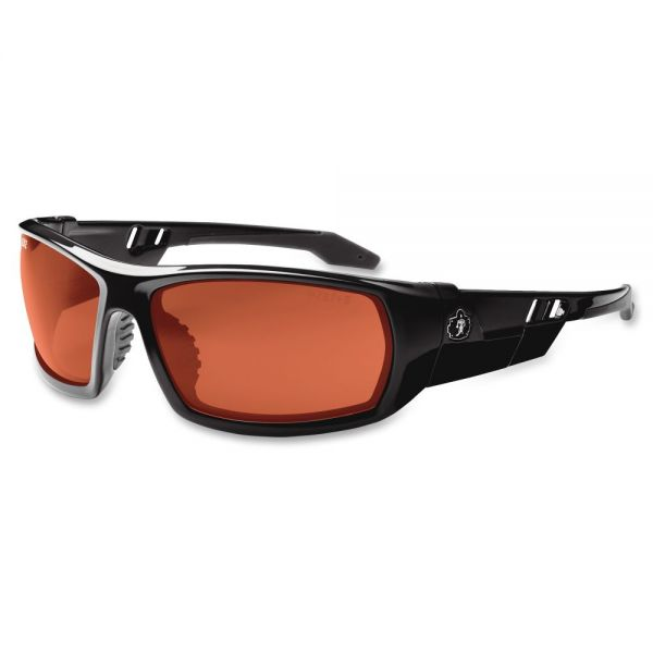 Ergodyne Skullerz Odin Copper Lens Safety Glasses