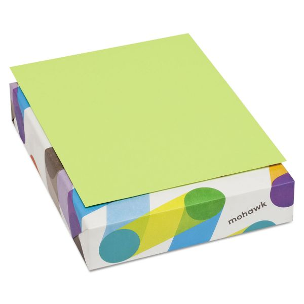 Mohawk Brite-Hue Colored Paper - Ultra Lime
