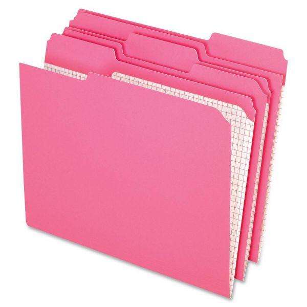 Pendaflex Pink Colored File Folders