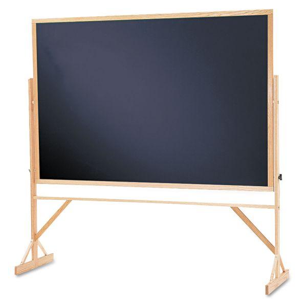 Quartet Double-Sided Easel Chalkboard
