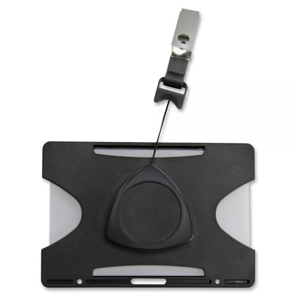 SICURIX Horizontal Badge Reel/Card Holder