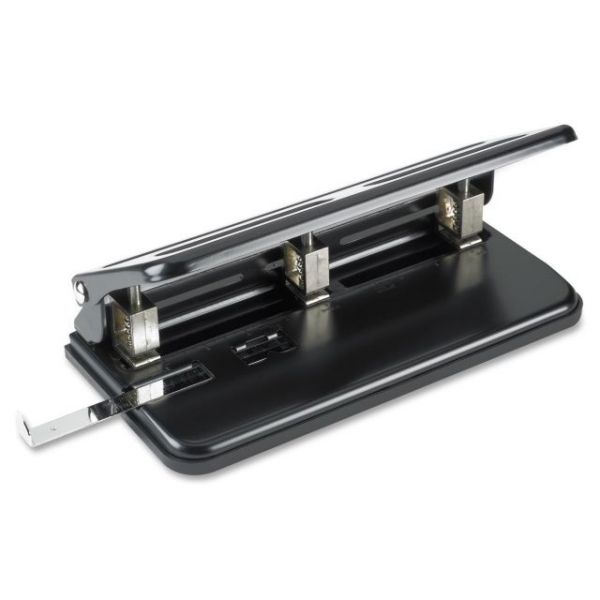Business Source Heavy-Duty Three-Hole Punch