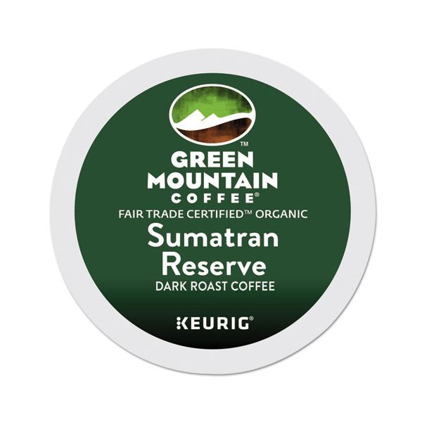 Green Mountain Coffee Roasters Fair Trade Organic Sumatran Reserve Coffee K-Cups