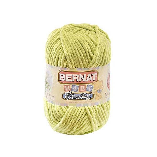 Bernat Baby Blanket Big Ball Yarn - Lemon Lime