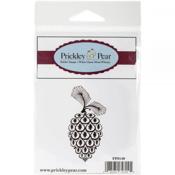 "Prickley Pear Cling Stamps 1.5""x3"""